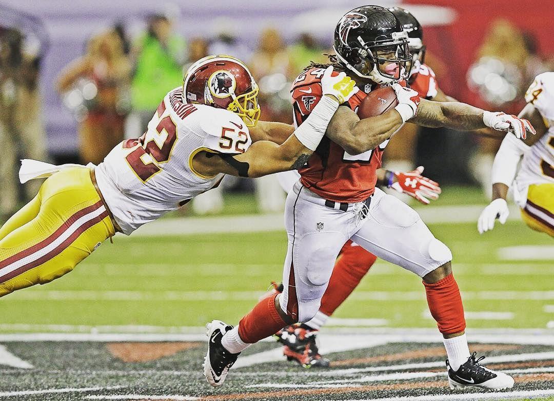 Devonta Freeman Can T Be Stopped Wasvsatl Riseup Falcons Atlanta Falcons Falcons Devonta Freeman