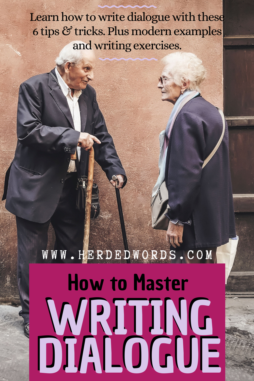 How to Write Dialogue [Top 19 Rules] - Herded Words  Novel writing