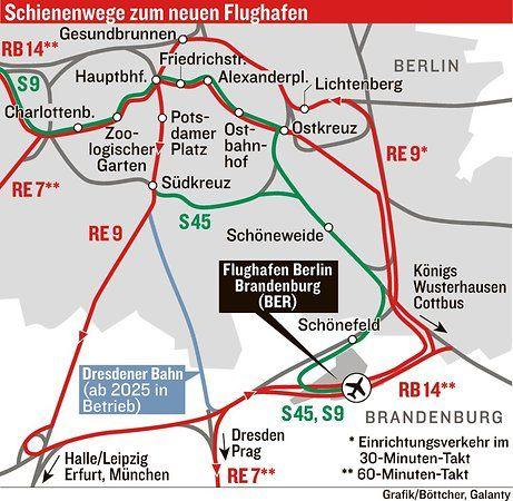 Fahrplan Airport Express Vom Ber Zum Hauptbahnhof In 36 Minuten
