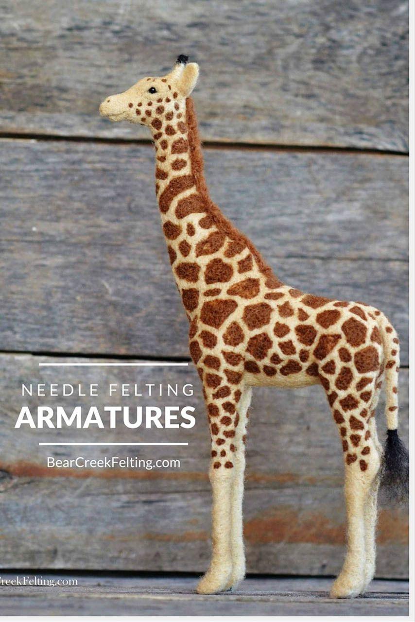 Needle Felting with Armatures   Felting, Needle felting and Wet felting