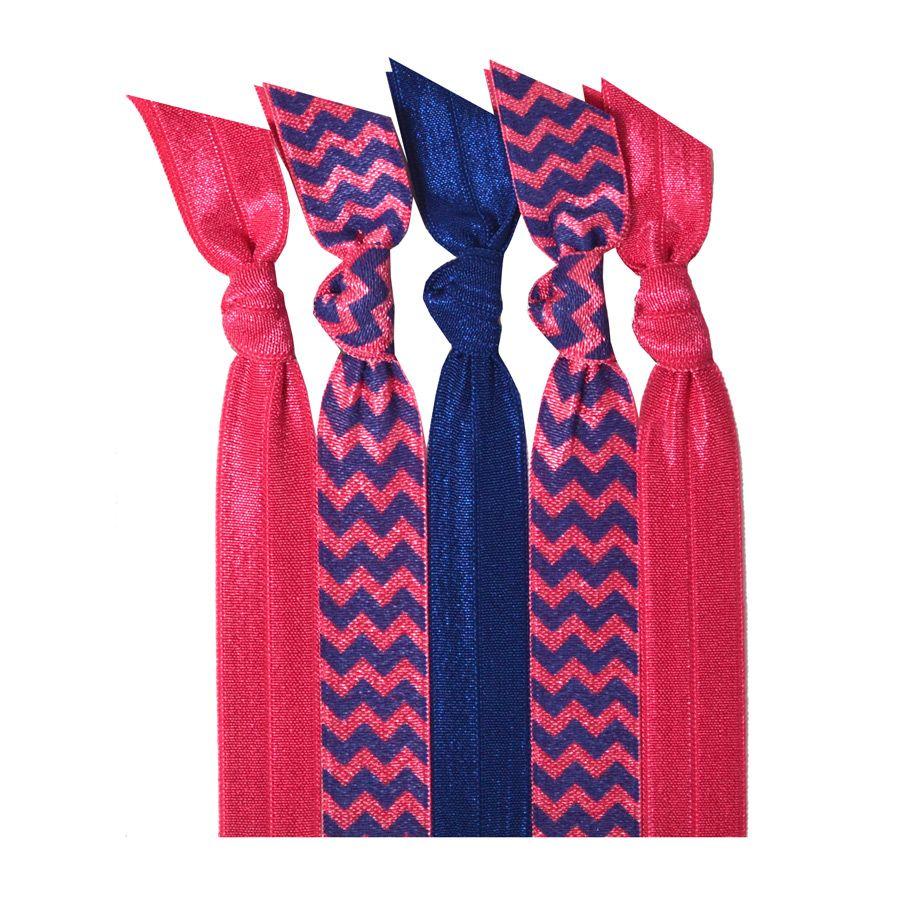 Emi Jay Bubblegum Collection Hair Tie Pack Chevron Emi