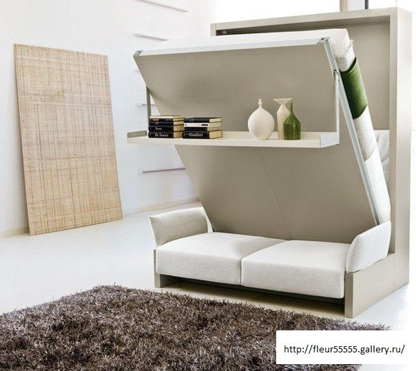 Convertible Murphy Bed E Saving Furniture Home Beds Apartment Size