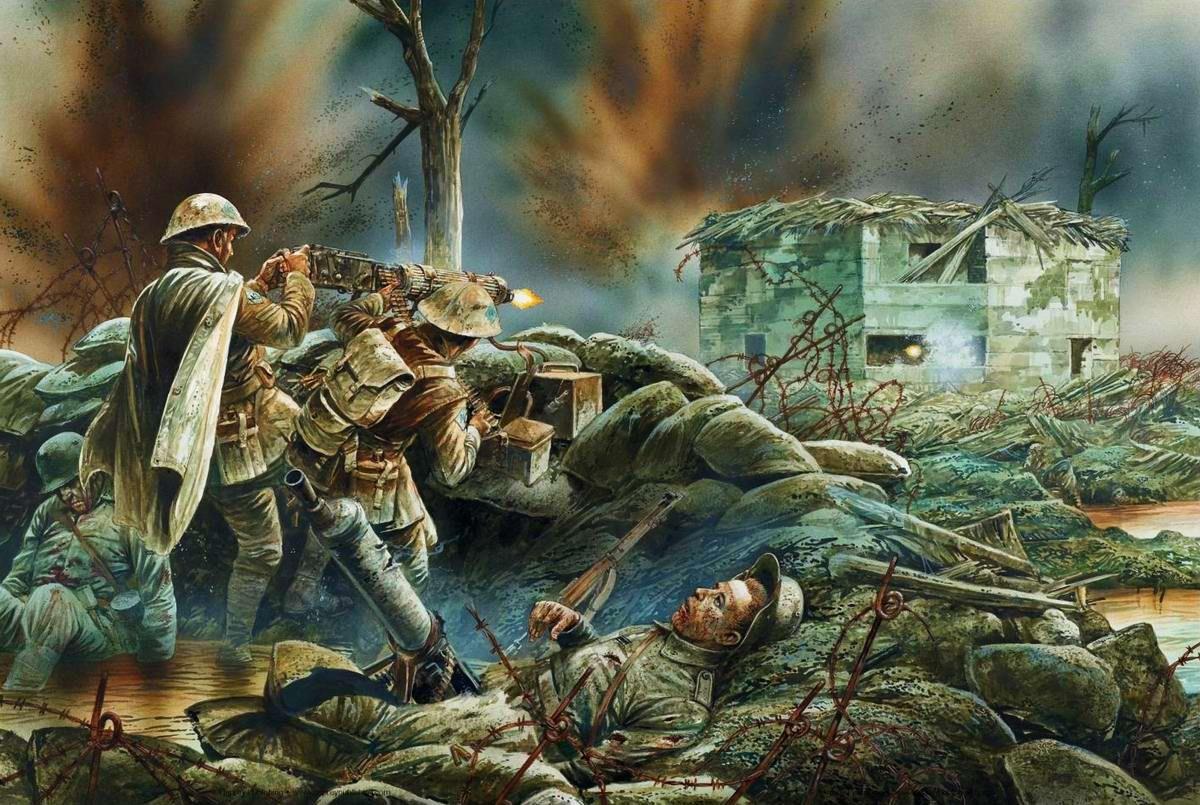 Pin En Batallas Y Soldados De La Wwi