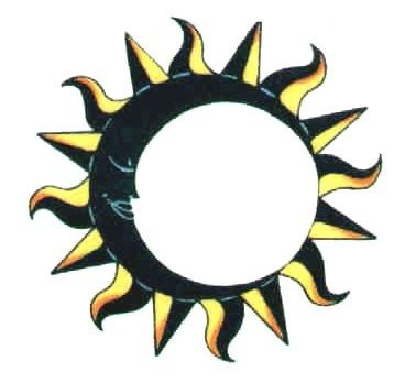 Sun Moon And Stars Symbol Moon Stars Tattoos On Sun Ring Tattoo