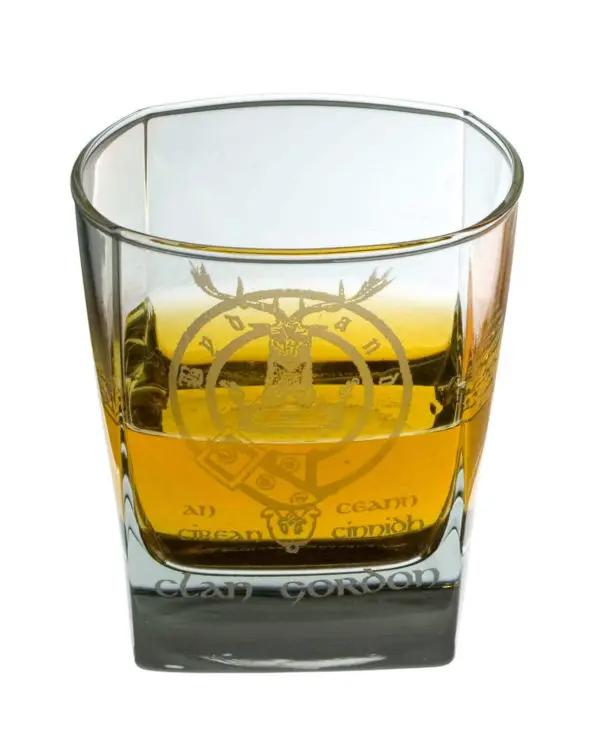 ScottishIrish Shot Glasses with Family Crest