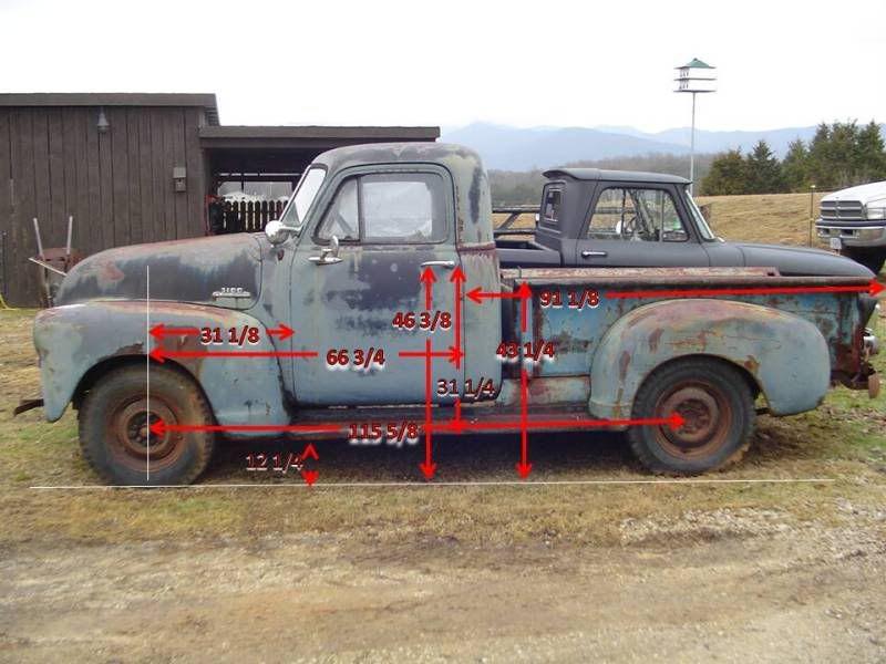 1949 Chevy Truck Frame Swap