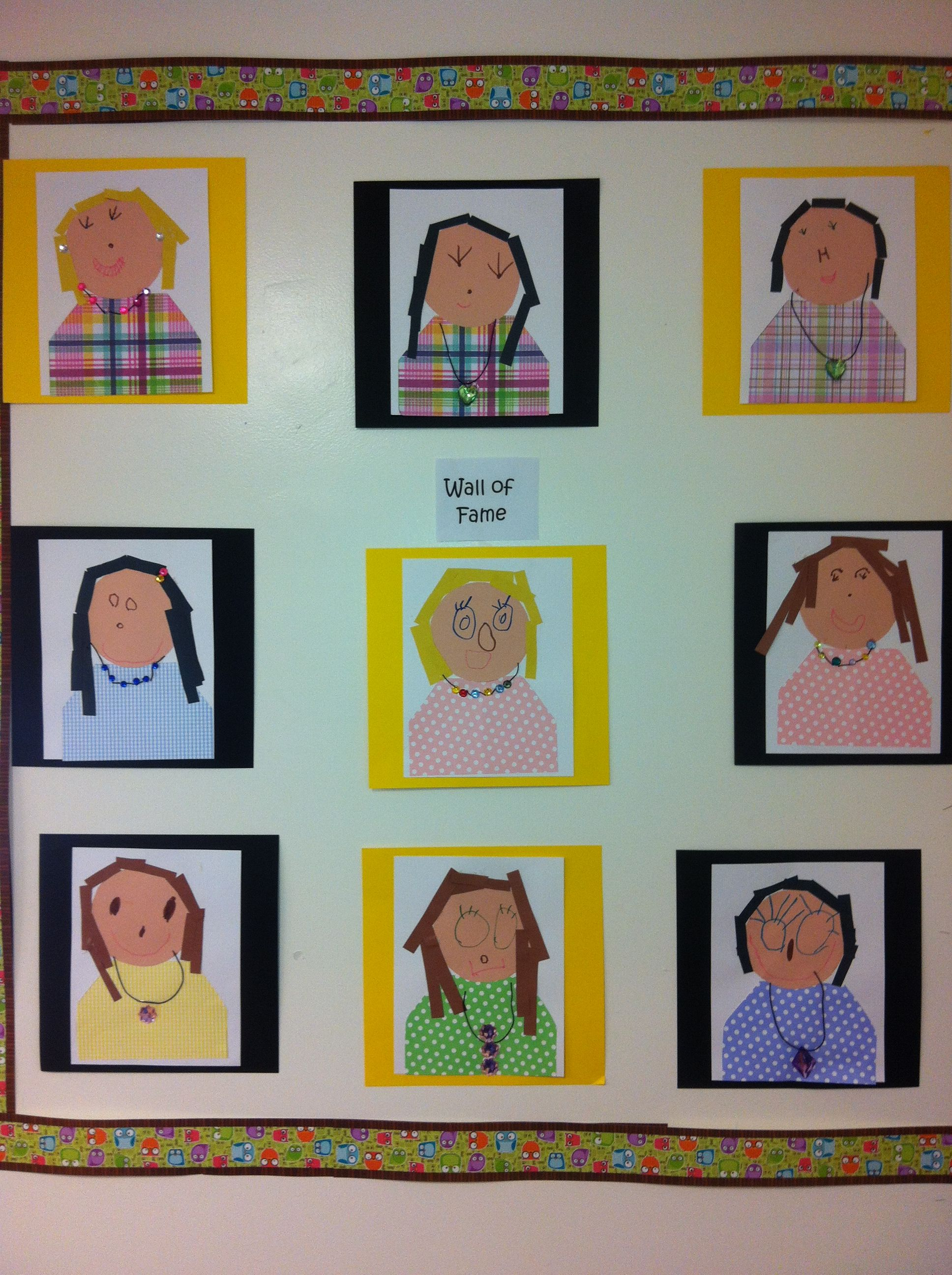 our wall of fame moms portraits wall of fame wall on wall of moms id=66701