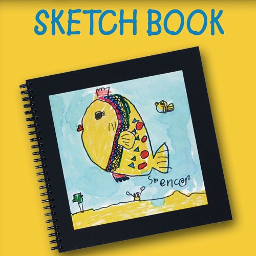 Item 36 Black Hardcover Book With Plenty Of Drawing Paper Includes