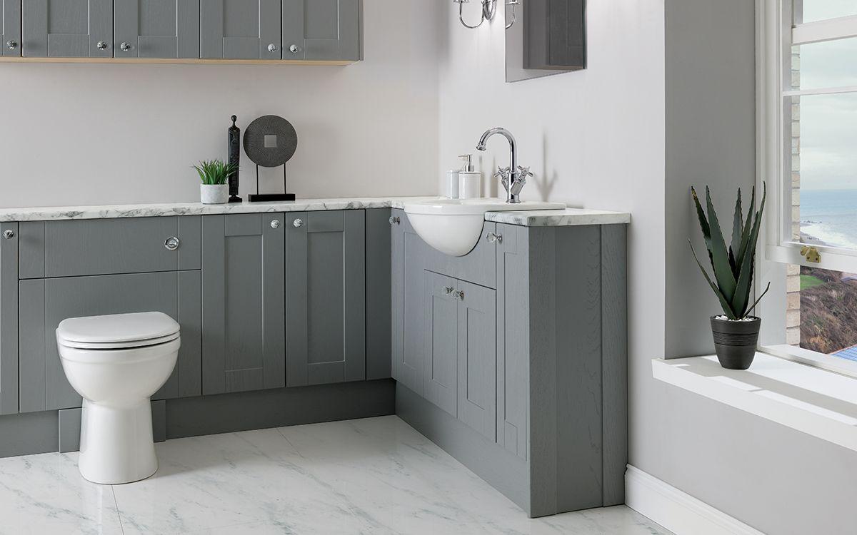 Chiltern Dusk Grey Bathroom Furniture Fitted Bathroom