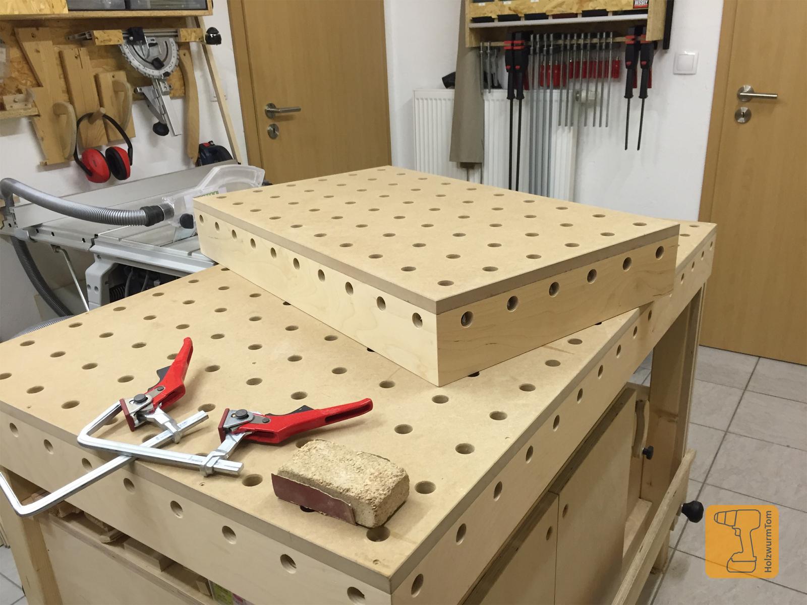 Werkstatteinrichtung selber bauen  HolzwurmTom: Der Werk- und Frästisch - Bau einer ...
