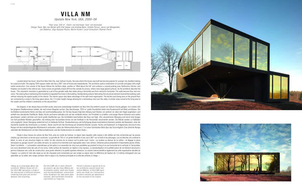 A Dream Contemporary House Architecture Best Design Books Contemporary house upstate ny