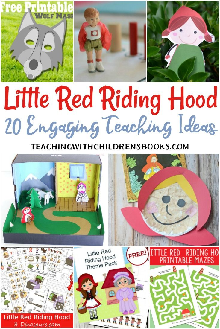 20 Engaging Little Red Riding Hood Activities For Kids With