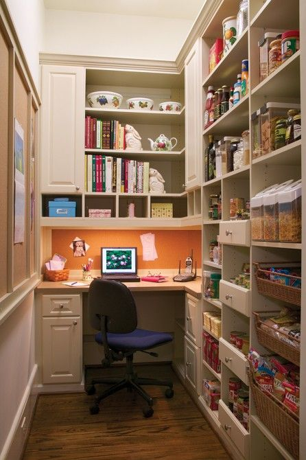 Home Offices An Ideas File Kitchens Home Office Space Closet