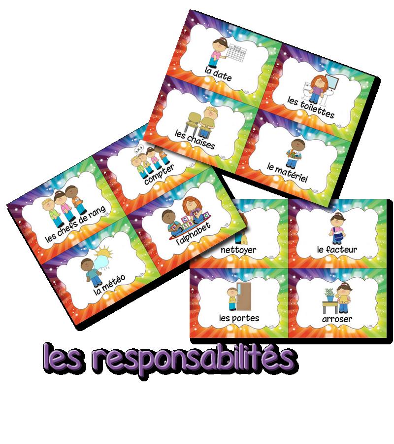 le tableau des responsabilit 233 s la classe de laurene tableau des responsabilit 233 s