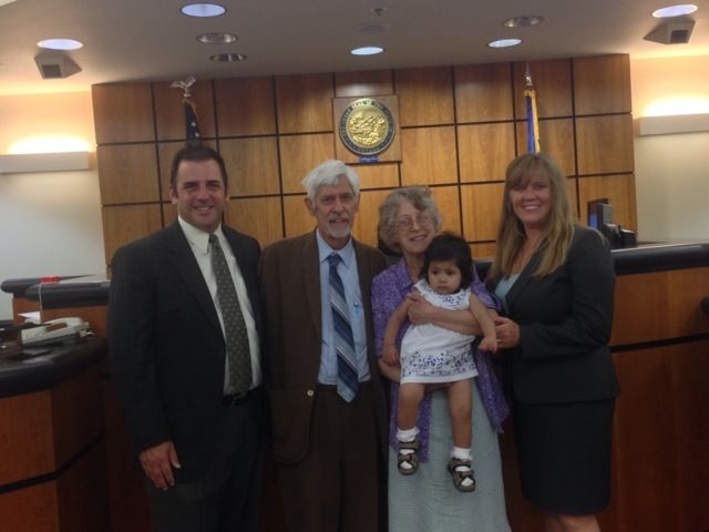 Baby finds happy ending after Nevada judge tried to have her forcibly aborted