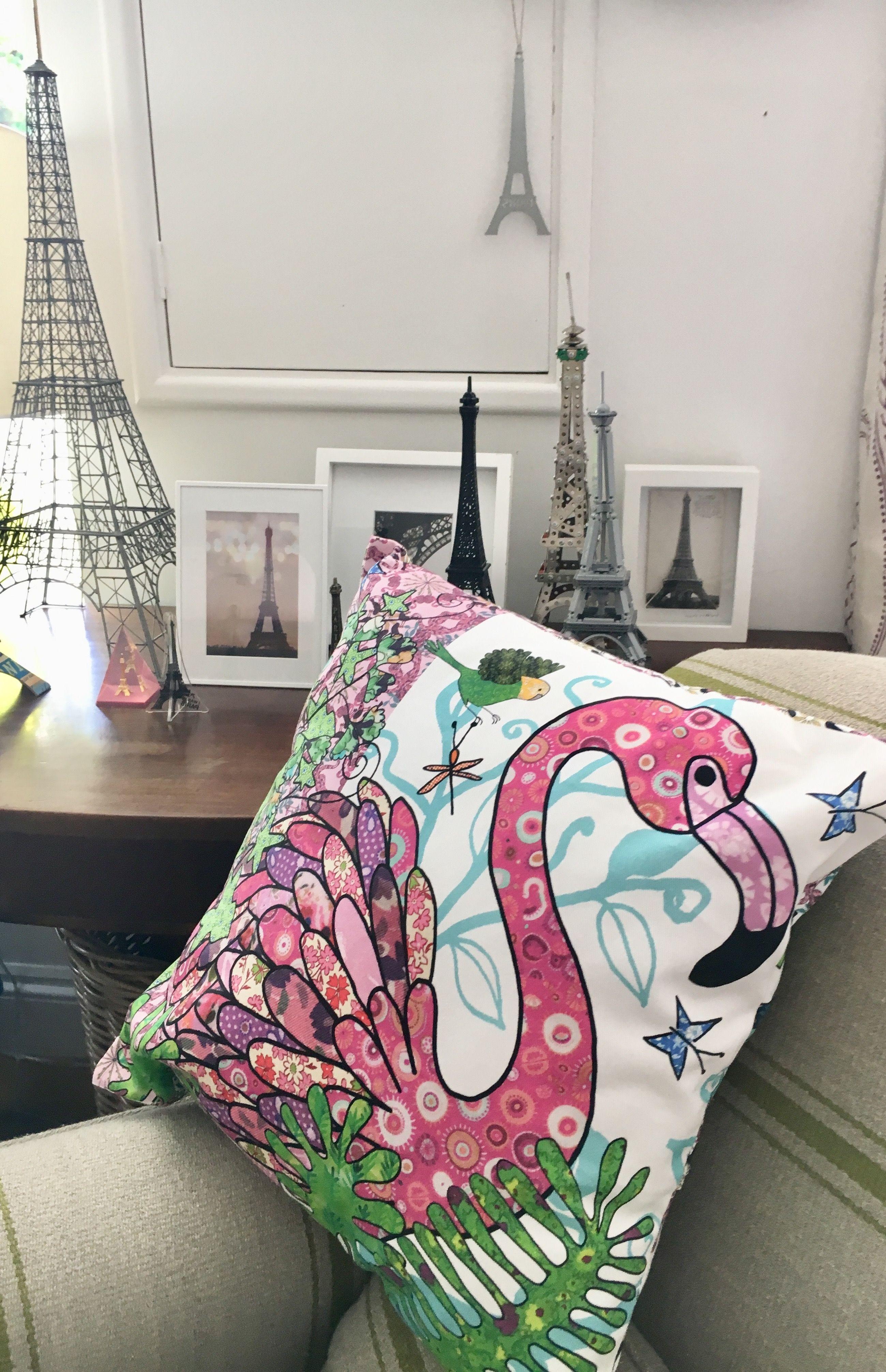 Flamingo cushion decorative pillow chair cushion thereus a few