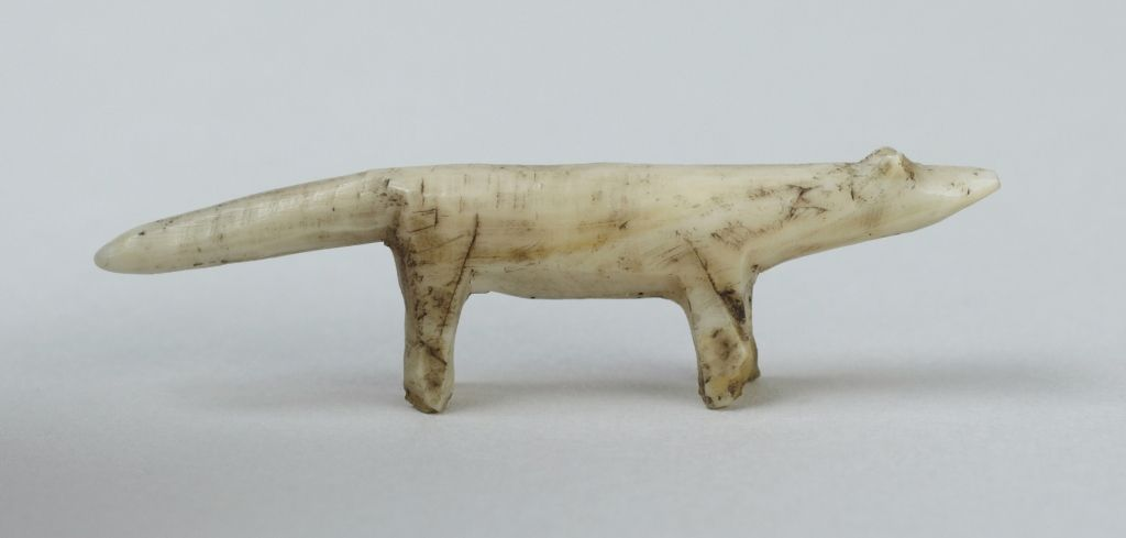 Arctic fox (1997-189) | Princeton University Art Museum