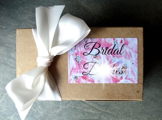 Funny Bridesmaid Gift - Team Bride - Bath Gift Set - Spa Gift  This funny bridesmaid gift set is uber customizable, because we love you. You get EITHER a 4 oz milk bath, a 4 oz foot scrub, OR an 8 oz bath salt, plus either a body butter OR three bath bombs, PLUS a natural loofah pad. Got that? Everything ships direct from Badgerface Beauty Supply. _____  Raise your hand if youve been on the receiving end of a seriously lame-ass bridesmaid gift. Or a bachelorette party favor. Some kinda…