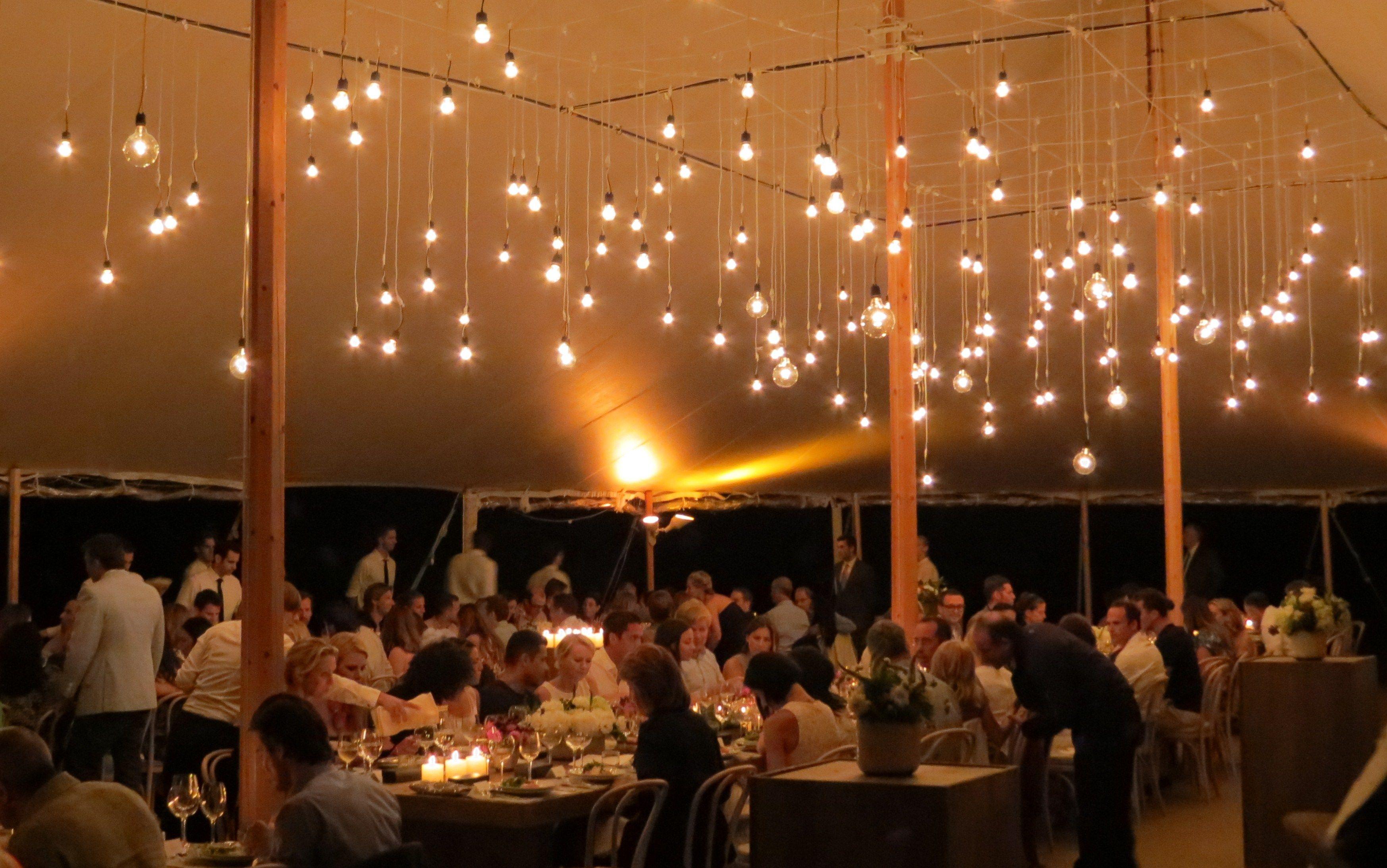 Matt Murphy Event Lighting Hanging Bulbs