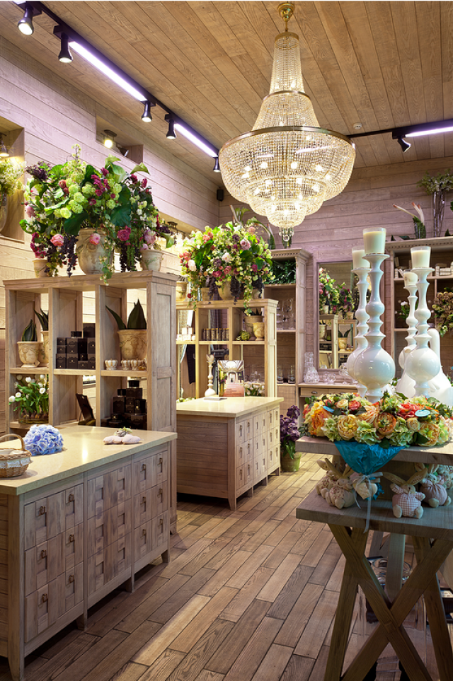 Flower Shop Interior Design 6 Studio EM Interior Design Dubai