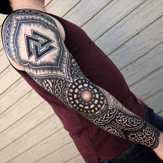 Trending Celtic Tattoo Design Ideas For 2020 That You Must Check Out Hike N Dip Celtic Tattoo Celtic Sleeve Tattoos Viking Tattoo Sleeve