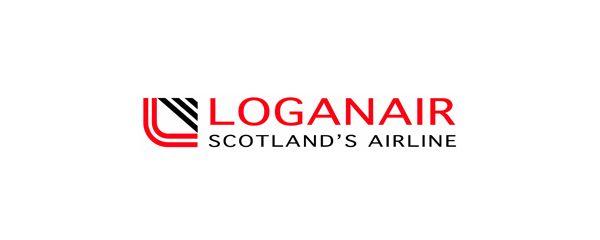 LOGANAIR SCOTLANDu0027S AIRLINE Logo (BRITISH) UK (BRITISH - excellent customer service