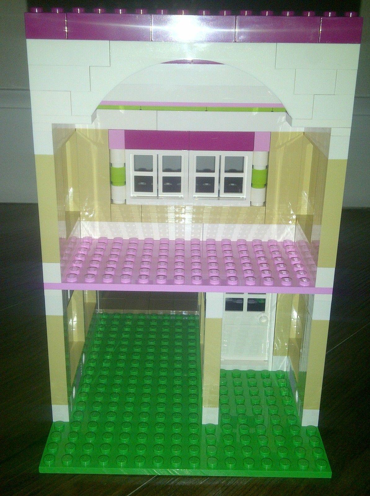 Lego Friends 3315 Olivia's House Custom Garage Addition | Custom ...