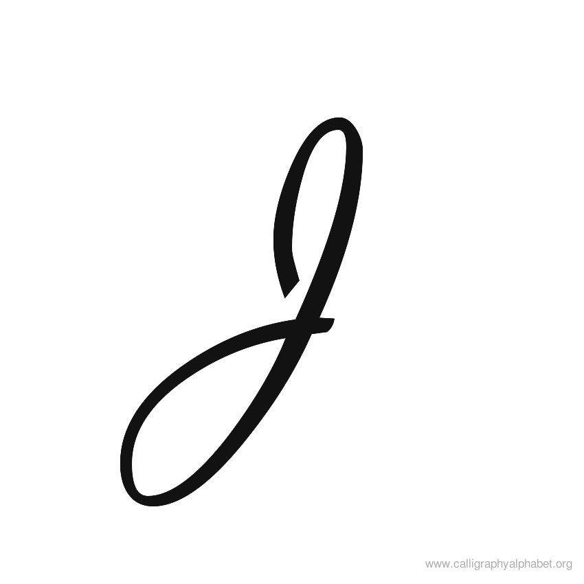 Calligraphy Alphabet Renaissance J   tattoos   Calligraphy ...