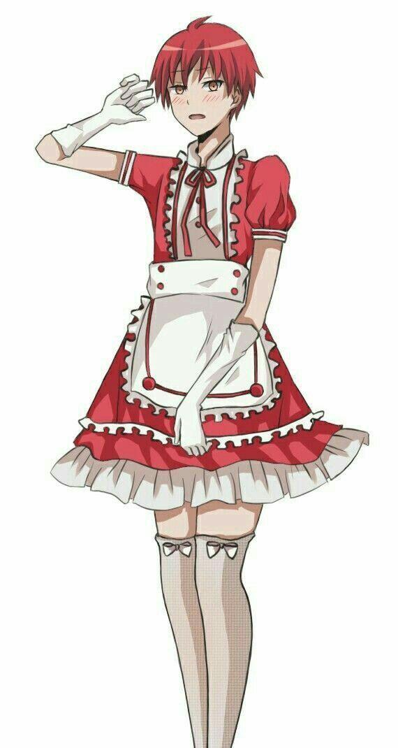 ¿Yo? . . . ¿una Maid? . . . Nunca 《Akabane karma y tu》(finalizada)