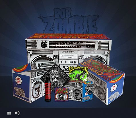 Rob Zombie Unified Manufacturing Rob Zombie Zombie Custom Boxes