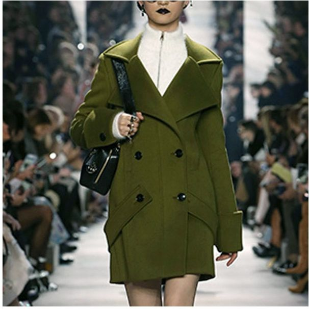 arlene sain custom women Army green Australia imported double ...