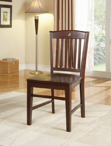 Heavy Duty Cherry Finish Solid Wood Dining Room Kitchen Side