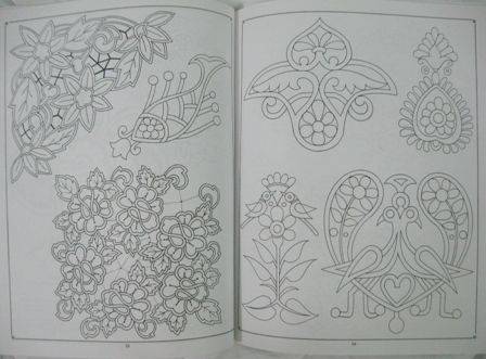 Simple Elegant Line Art : Are you searching for simple vintage kind of embroidery patterns