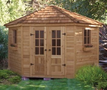 Garden Sheds 9 X 5 9' x 9' penthouse garden shed quality craftsmanship & design as a