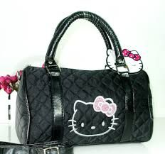 Another Hy 4th Of July Souvenir O Kitty Large Leather Bag Design