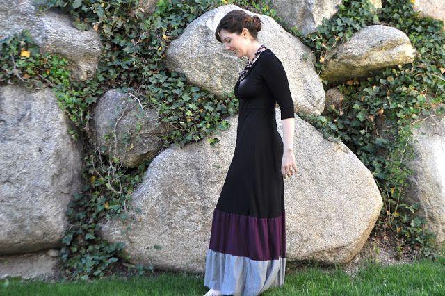 I Am Momma - Hear Me Roar: Short Dress to Maxi Dress... <3 this dress!