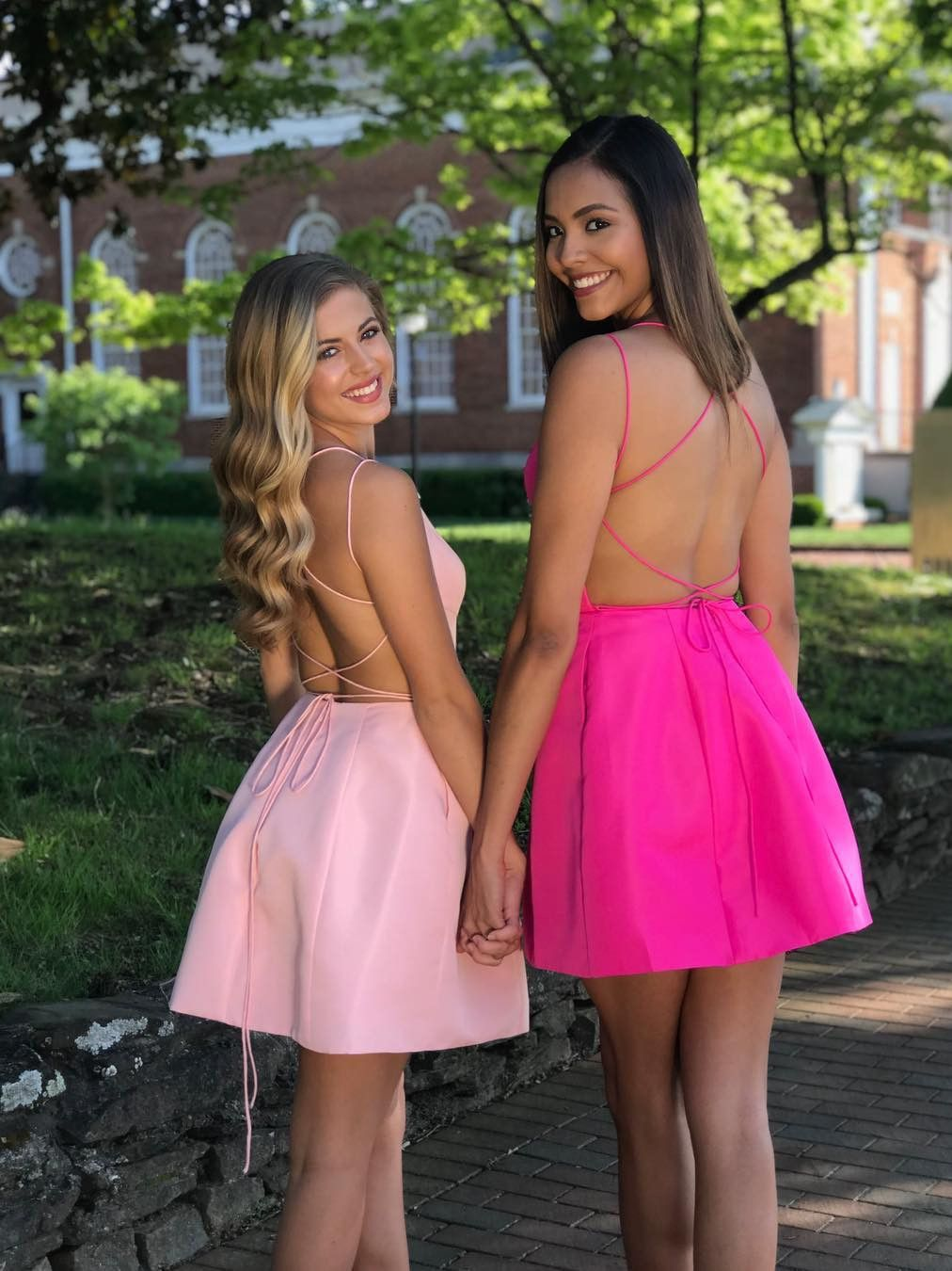 Aline square neck turquoise short homecoming party dress with