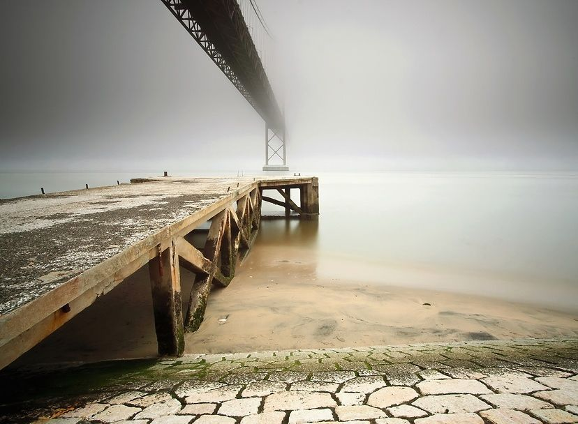 Silence Old Pier. -  Paulo Flop