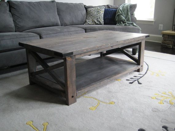 Rustic X Distressed Handmade Coffee Table Coffee Table Wood Coffee Table Rustic Coffee Tables
