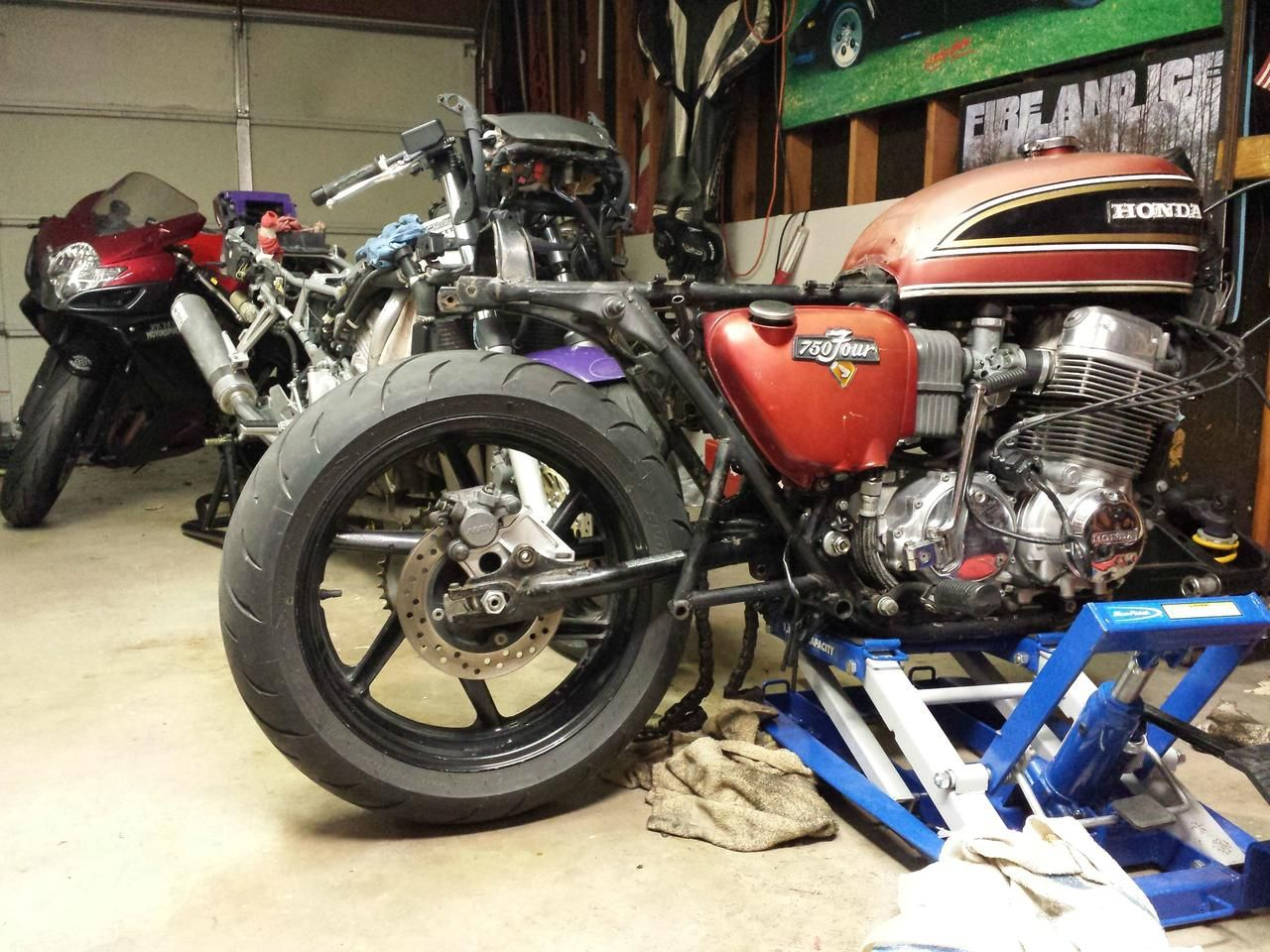 1971 CB750 with GSXR Front End | Motorcycles | Cb750