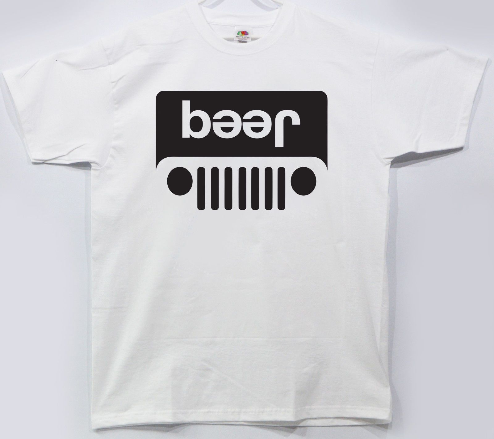 Details About T Shirt Jeep Beer Funny Parody Drinking Graphic Tee