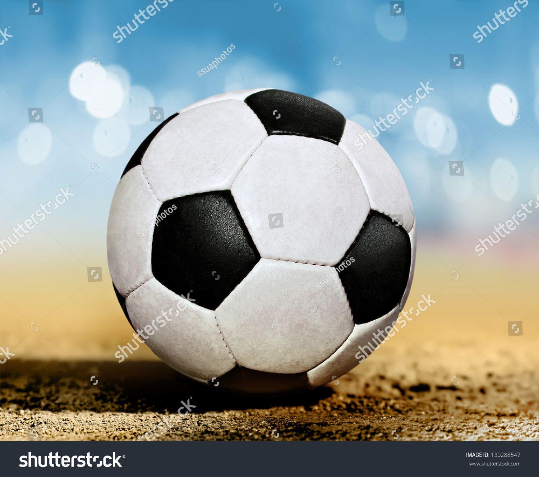 35adfd35172 closeup soccer ball on ground at sun day