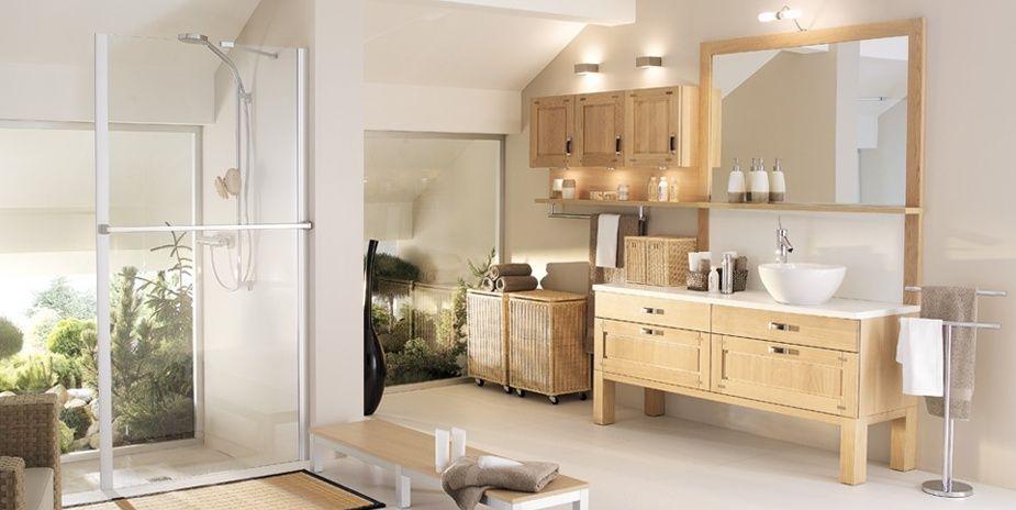 décoration salle de bain naturelle | Arthur Salle de Bain ...