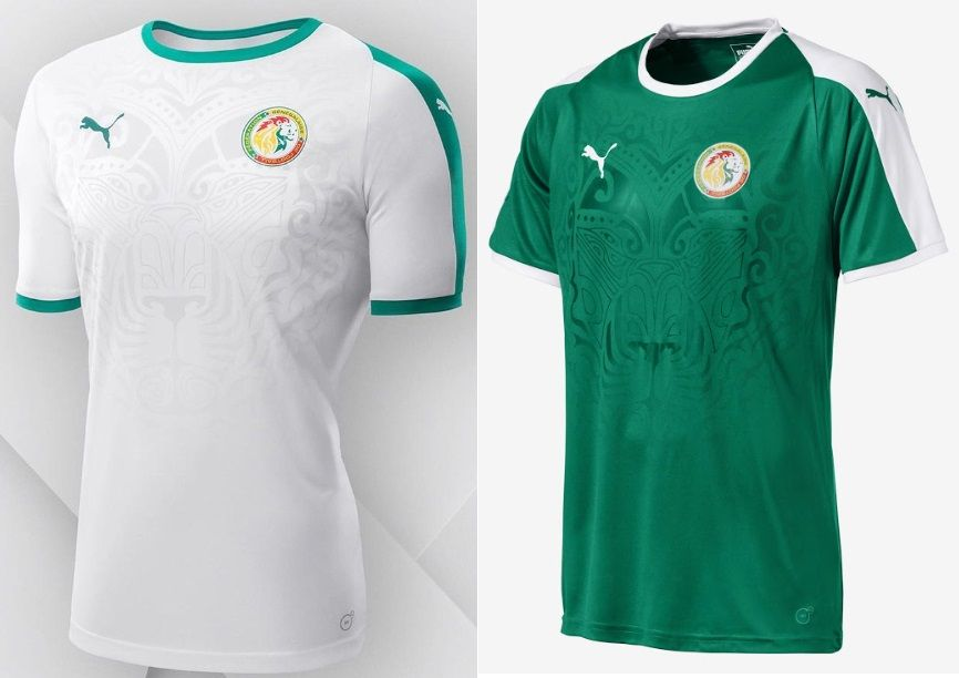 187b16a9e19 World Cup 2018 Kits Senegal (Home & Away Jerseys) – Puma #disnaija  #worldcup2018 #fifaworldcup #football #roadtorussia #worldcup2018russia  #russia2018 # ...