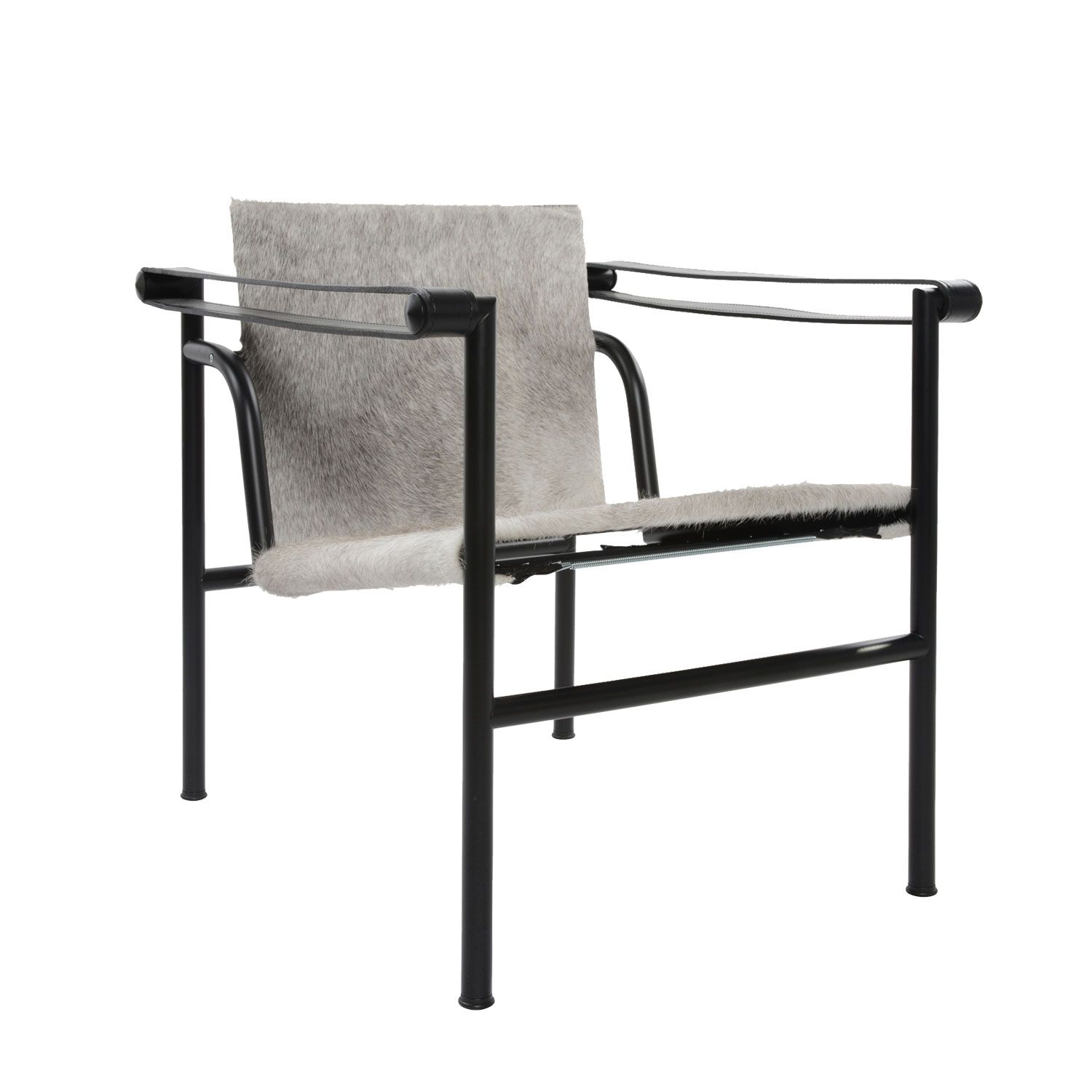 Cassina Lc1 Armchair With Grey Hide By Le Corbusier Contemporary Modern Furniture Furniture Contemporary Furniture