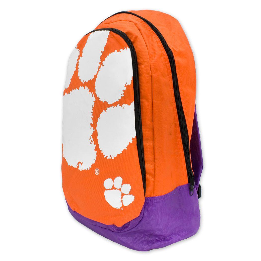 27ce6fdeb66d Clemson  Tigers  Backpack  Bookbag