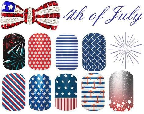 How totally cute to rock the 4th wearing. Www.karareno.jamnerrynails.net