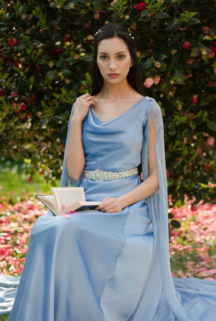 Thrift store wedding dress  blue elven dress  Disfraces  Pinterest  Costumes Clothes and