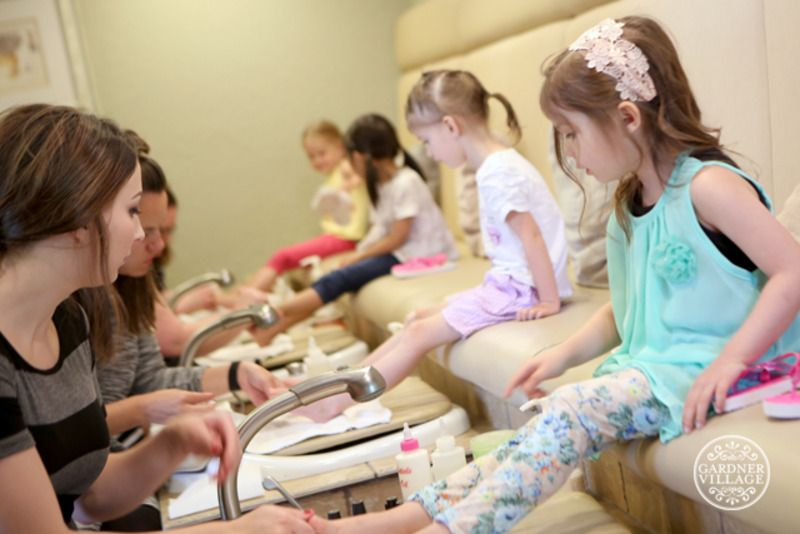You've had a birthday and it's time to party. There are tons of fun options at Gardner Village, starting with a fun pedicure party at Cottage Retreat Spa.