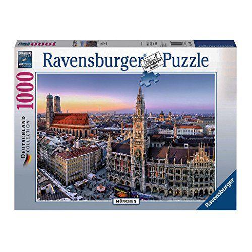 Ravensburger Beautiful Germany Munich Jigsaw Puzzle 1000 Https Www Amazon Com Dp B00kaaf79e Ref Cm Sw R Pi Ravensburger Puzzle Ravensburger World Puzzle